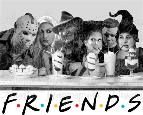 Horror movie friends Sublimation file, PNG Printable