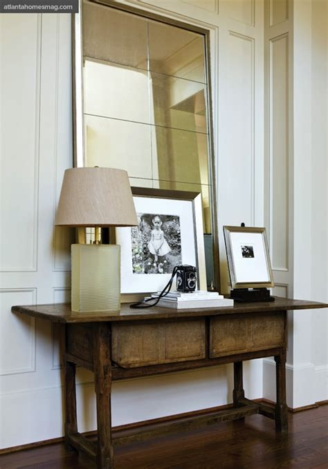 Antique Console Table - Transitional - entrance/foyer