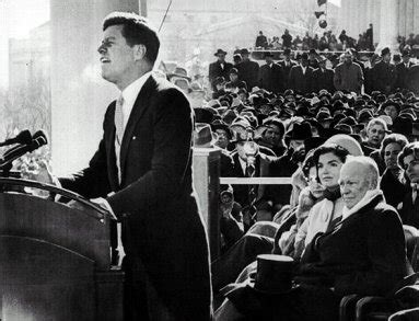 JFK used the motto of his high school in his inauguration