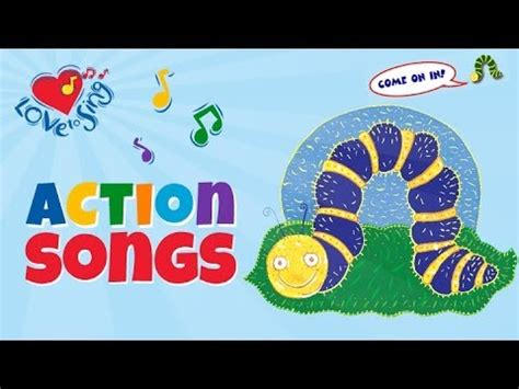 Fuzzy Wuzzy Caterpillar | Kids Action Songs | Butterfly