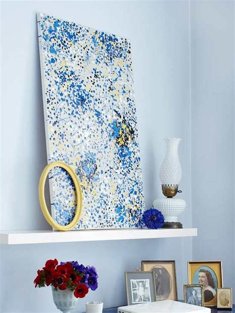 25 Creative and Easy DIY Canvas Wall Art Ideas – The WoW Style
