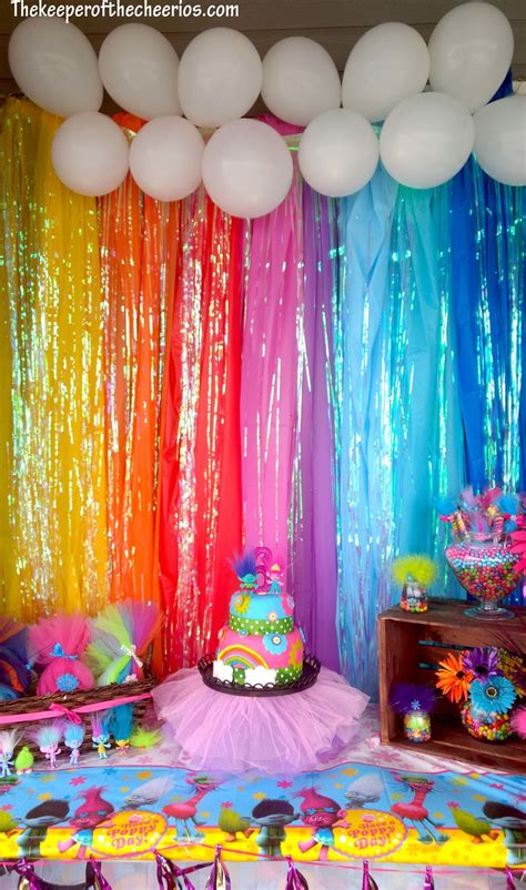Trolls Birthday Party - The Keeper of the Cheerios