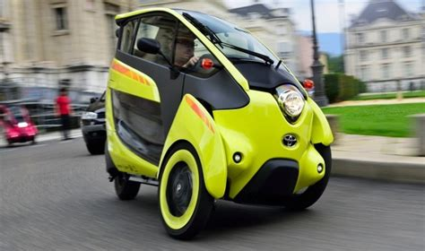 Toyota brings three-wheeled i-Road EVs in France for