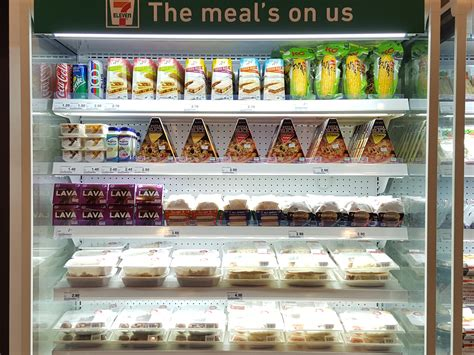 7-Eleven Singapore Fresh Chilled Ready-To-Eat Meals   NAHMJ