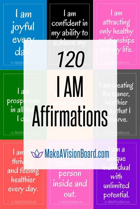 I Am Affirmations - 120 Empowering Affirmations + A Free