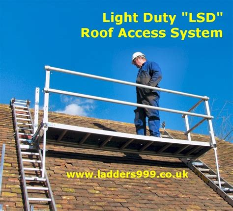 Light Duty LSD Roof Access System by Ladders999 - Lansford