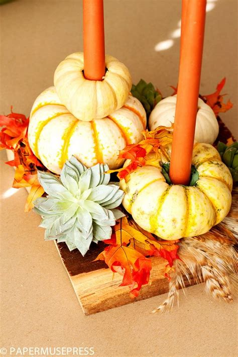 20 Easy Thanksgiving Decorations for Your Home