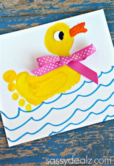 25 Fun and Beautiful Handprint & Footprint Crafts for Your