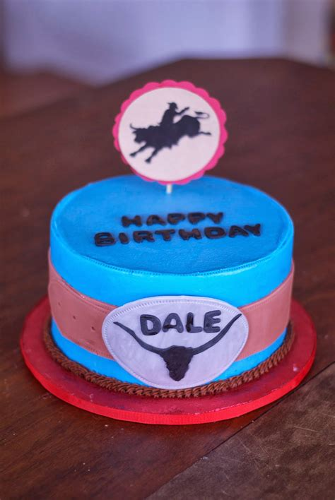 Country Cupboard Cakes: Bull Riding Cake