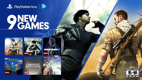 PlayStation Now: Stream 9 New Games Starting Today