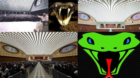 Vatican City is home to a building shaped like a serpent's