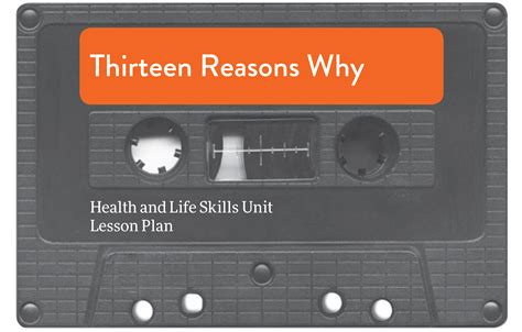 Thirteen Reasons Why Lesson Plan - Centre for Suicide