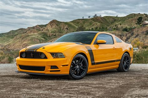 2700-Mile 2013 Ford Mustang Boss 302 for sale on BaT