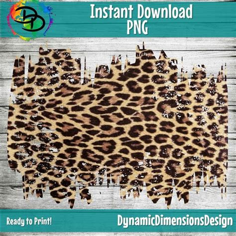 Distressed Leopard Sublimation - Dynamic Dimensions