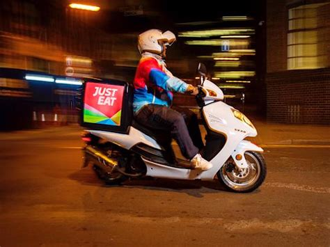 Food delivery startup Just Eat is getting a colourful