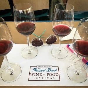 2016 Newport Beach Wine + Food Fest: What You May Have