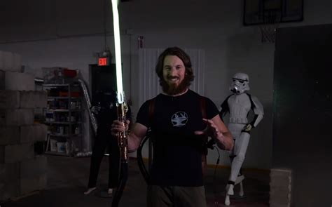 BEHOLD: World's First Retractable Plasma-Based Lightsaber