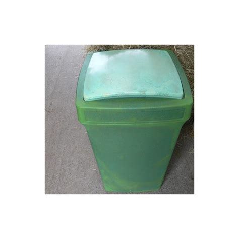 Large Strong Feed Bin (100 litre) - Horse Jumps For Sale