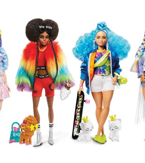 The Barbie Extra Dolls Have Fun & Vibrant Personalities