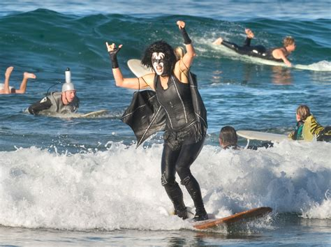 Costumed surfers will be riding waves in style at wacky